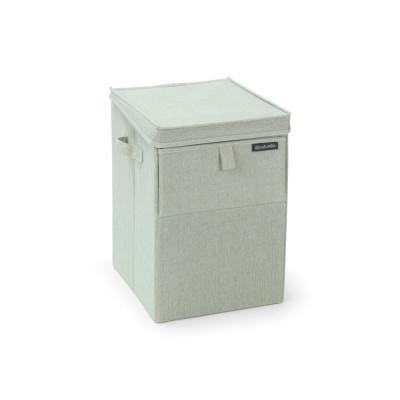 Faltbarer Wäschekorb 35 L | Grün