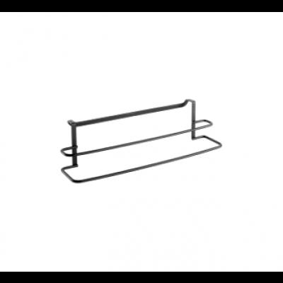 Doppelter Handtuchhalter Origin | Schwarz