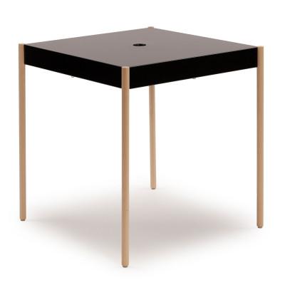 La Table Stapelbarer Tisch TW/670x670 | Schwarz RAL 9005