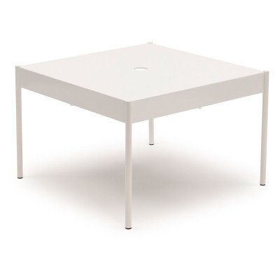 La Table Stapelbarer Sofa-Tisch ST/670x670 | Weiß RAL 9016