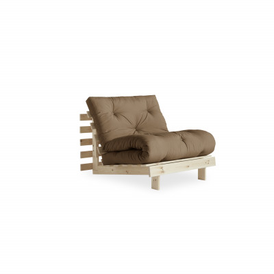 Sofa Bed Roots 90 | Raw/Mocca