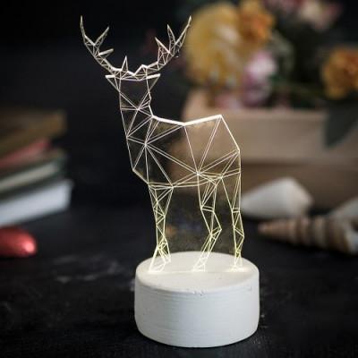 Rentier Tischlampe | Klein
