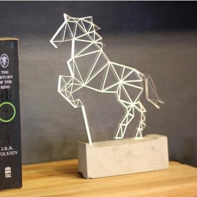 Pferd Tischlampe