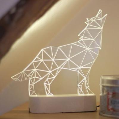 Wolf Tischlampe