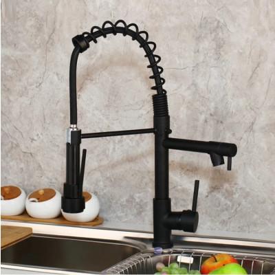 Semiprofessioneller Wasserhahn San Diego | Schwarz