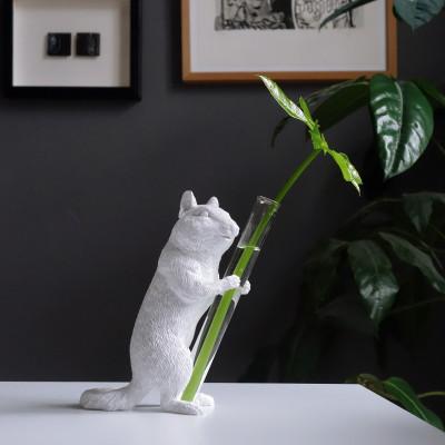 Vase Streifenhörnchen 02