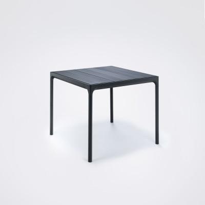 Garten-Tisch Vier | Schwarz
