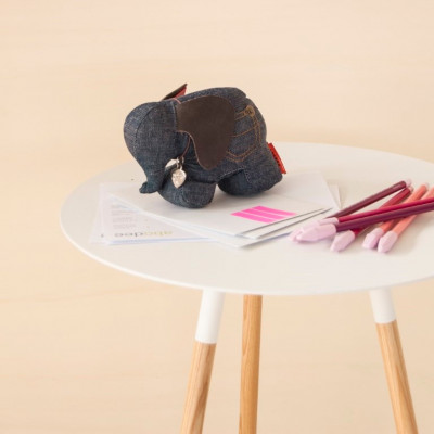 Schreibtischhelfer Frau Rosie der Elefant | Denim