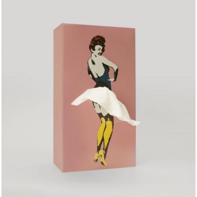 Tissue Box Tissue Up Girl | Rosa