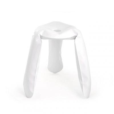 Plopp Standardhocker - Weiß
