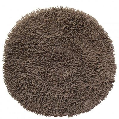 Round Bath Mat | Brown