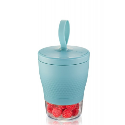 Snackbox Foodie 570 ml und 185 ml | Azurblau