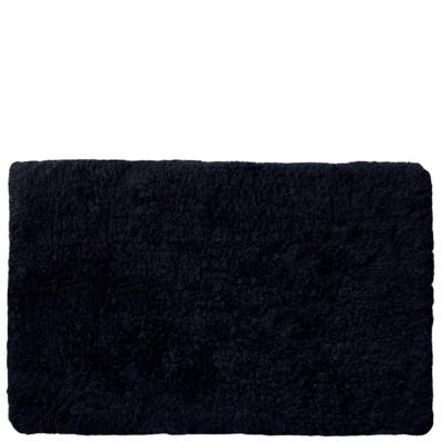 Badvorleger | 50 cm x 75 cm | Schwarz