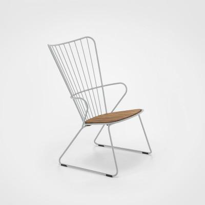 Garten-Lounge-Stuhl Paon | Taupe