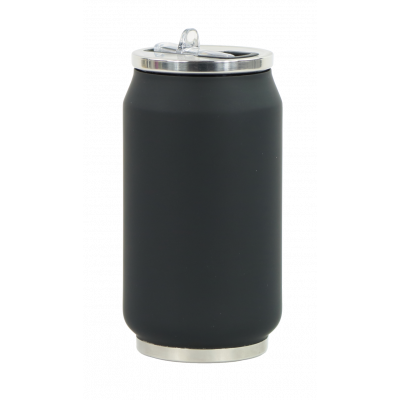 Isotherme Blechdose 280 ml | Schwarz