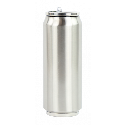 Isotherme Zinndose 500 ml | Silber