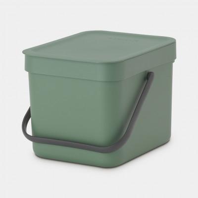 Mülleimer Sort & Go 6 L   Grün