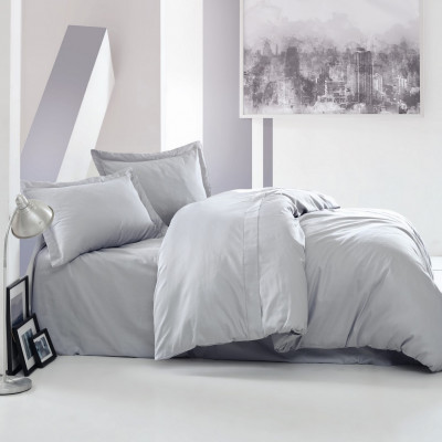 Bettbezug Elegant 140 x 200 cm | Grau