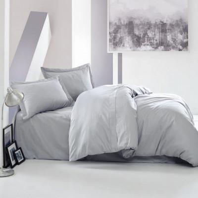 Bettbezug Elegant 200 x 200 cm / Kissenbezug 80 x 80 cm | Grau
