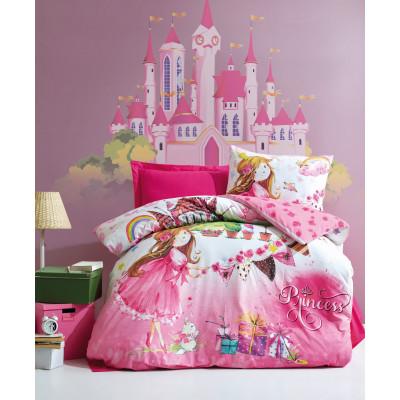 Bettbezugsset Princess Pink