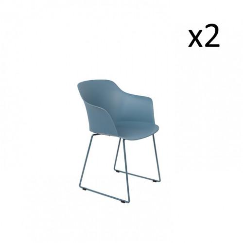 Set of 2 Armchairs Tango | Set of 2 | Blue