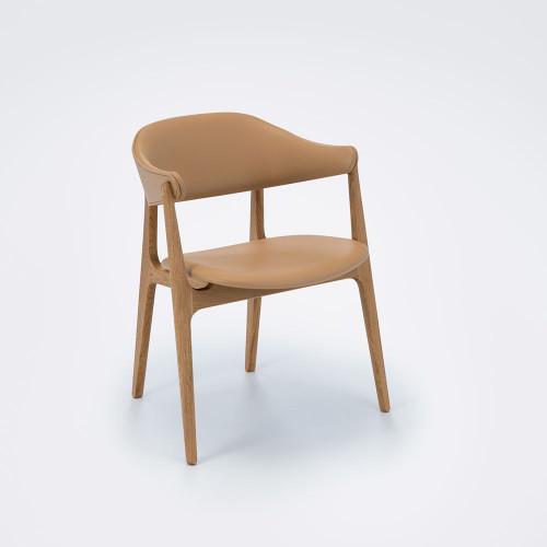 Stuhl Spän   Eiche / Sand