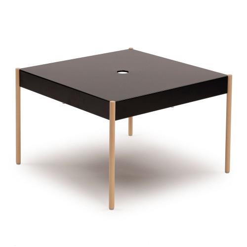 La Table Stackable Sofa Table STW/670x670   Black RAL 9005