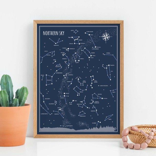 Poster Little & Big Astronomer | Set of 2