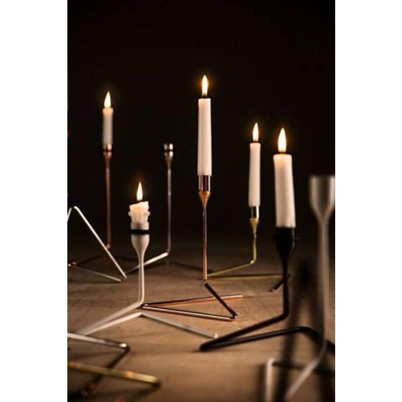 Kerzenständer Puzzle | Weiß