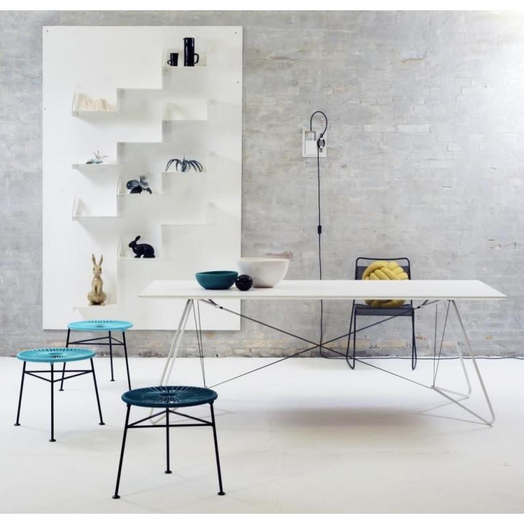 OAS (an einer Schnur) Tabelle | Weiß-Klein