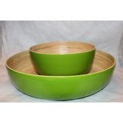 Bamboo Salad Bowl Lime