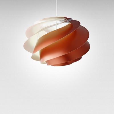 Pendant Lamp Swirl 1 | Copper