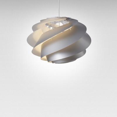 Pendant Lamp Swirl 1 | Silver