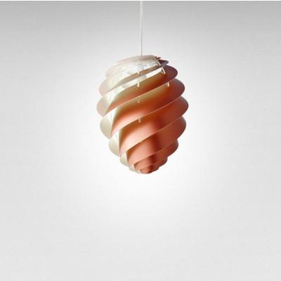 Pendant Lamp Swirl 2 | Copper