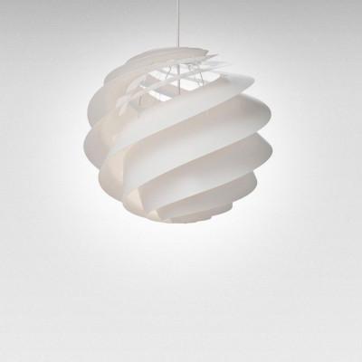 Pendant Lamp Swirl 3 | White