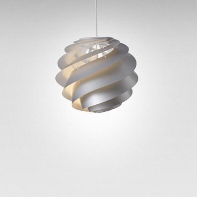 Pendant Lamp Swirl 3 | Silver