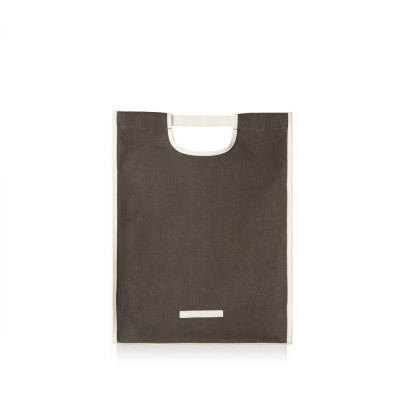R Tote 200 Wax Canvas | Charcoal