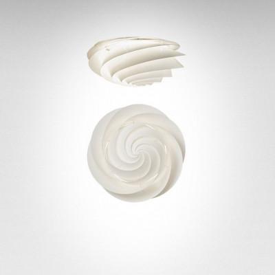 Swirl Ceiling/ Wall Lamp | White