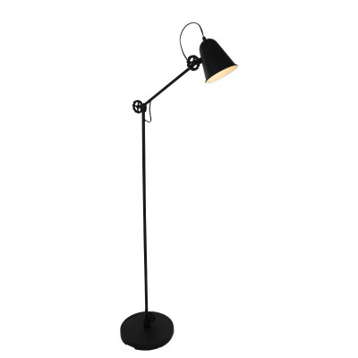 Floor Lamp Dolphin | Black