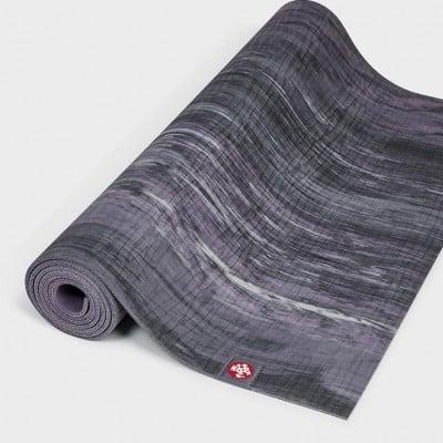 Yogamatte Eko® Lite Mat 4mm | Black Amethyst Marbled