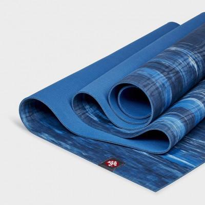 Yogamatte Eko® Lite Mat 4mm | Dark Sapphire Marbled