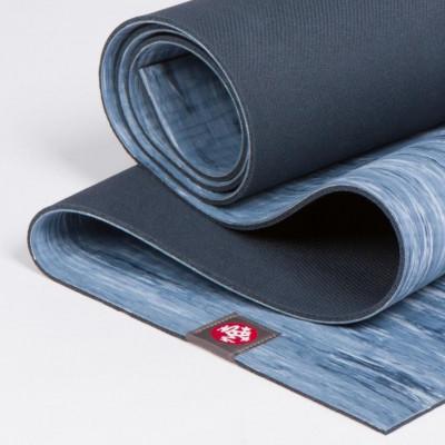 Eko® Lite Yogamatte 4mm | Ebb Marbled Blau