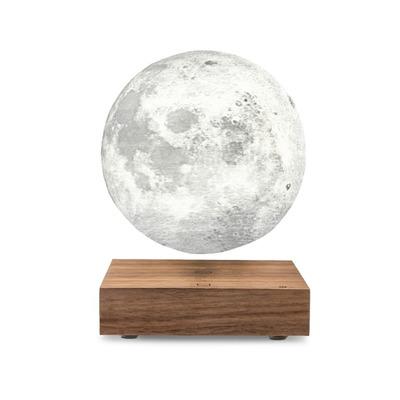 Smart Moon Lampe   Walnuss