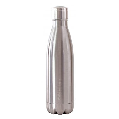 Isotherme Trinkflasche 500 ml | Silber