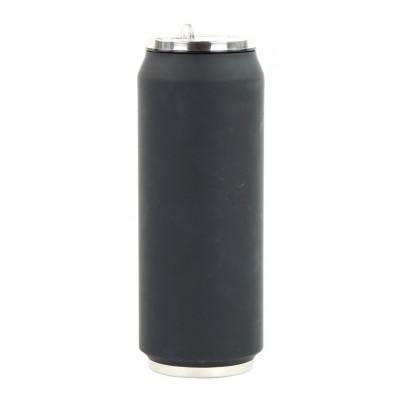 Isotherme Blechdose 500 ml | Schwarz