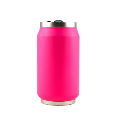 Isotherme Blechdose 280 ml | Fuchsia Fluo