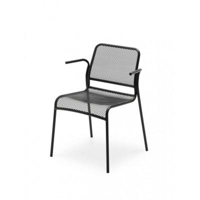 Outdoor Armchair Mira | Dark Grey
