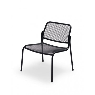 Outdoor Lounge Chair Mira | Dark Grey