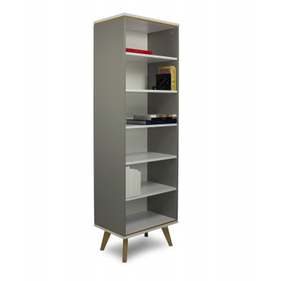 Bücherregal Jorgen | Grau