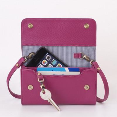 Smartphone Mini-Tasche | Himbeere